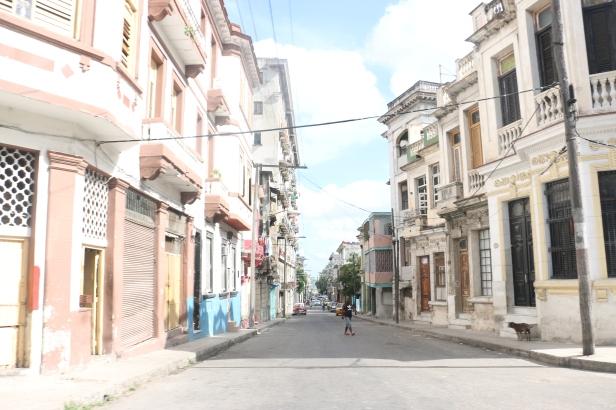A street in Vedado