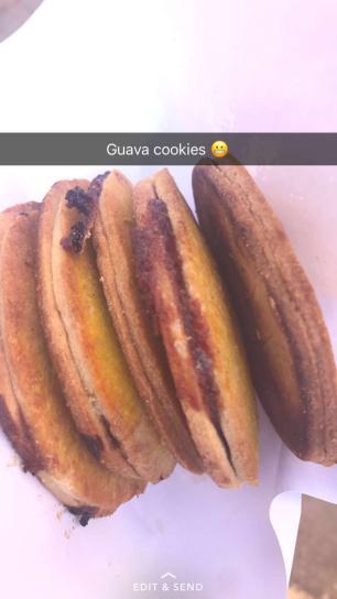 Street Food: Guava Cookies